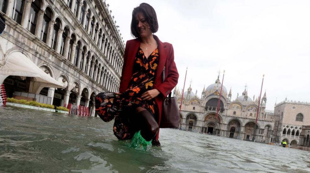 Венеция под вода (СНИМКИ)