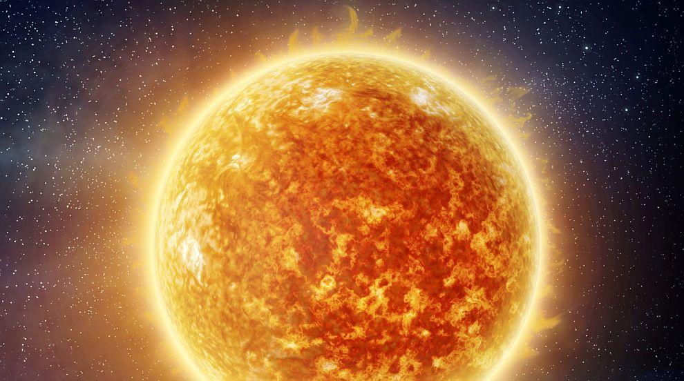 Голямо изригване на радиация от Слънцето е ударило Земята