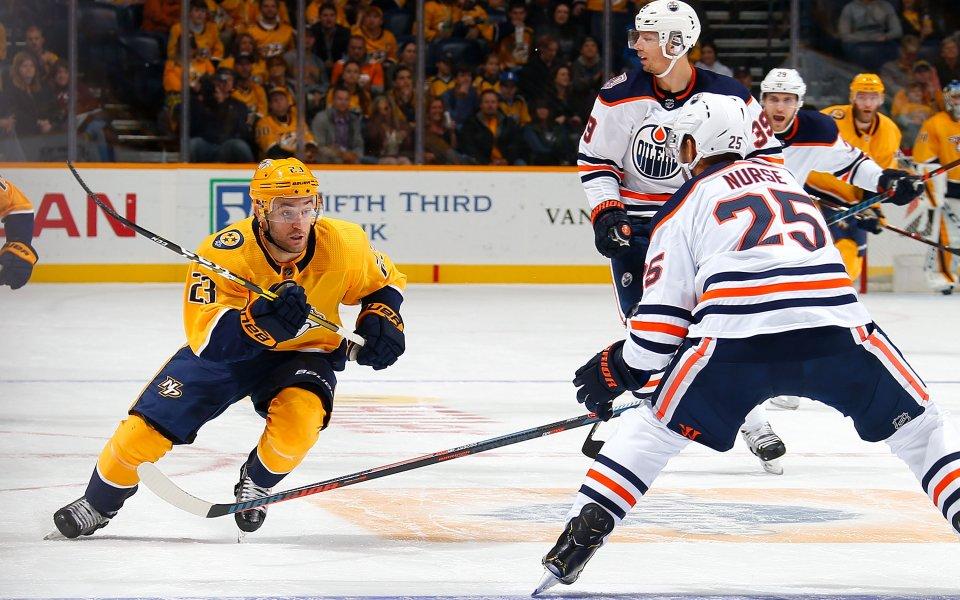 Нешвил разгроми Ню Джърси, качи се на върха в Източната конференция в НХЛ