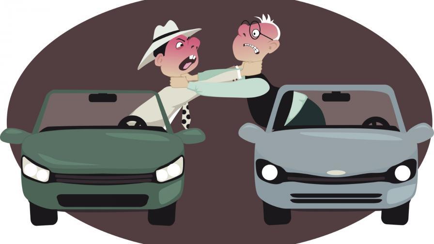 <p>Агресия на пътя: жена ошамари мъж в Русе</p>