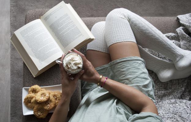 Ще се сгуша с книга в леглото