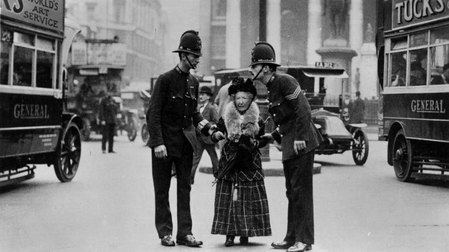Уникални снимки на Лондон отпреди 100 години