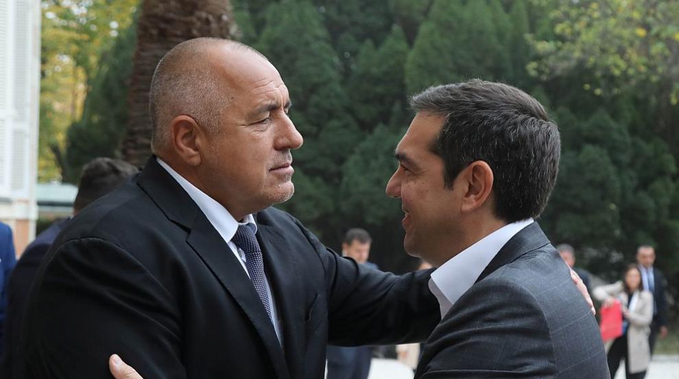 Премиерът Борисов посрещна гръцкия си колега Ципрас в Кирково