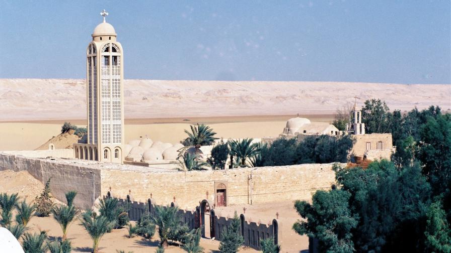 """Манастирът """"Св. Самуил изповедник"""" в Египет"""