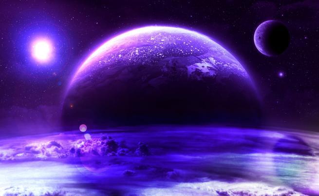 Била ли е Земята лилава преди милиарди години