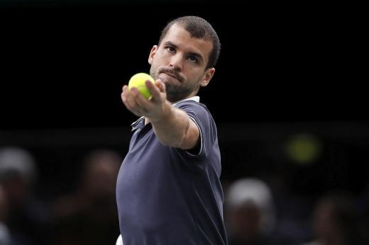 Най-добрият български тенисист Григор Димитров