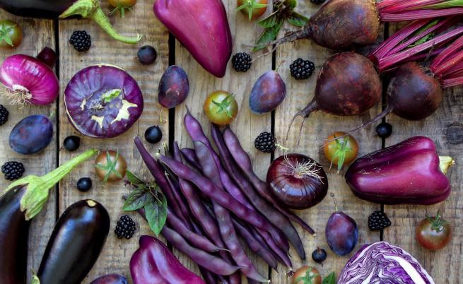 Лилавите храни, които трябва да включим в менюто