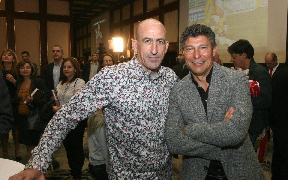 Снимка: Лечков отговори на Венци Стефанов