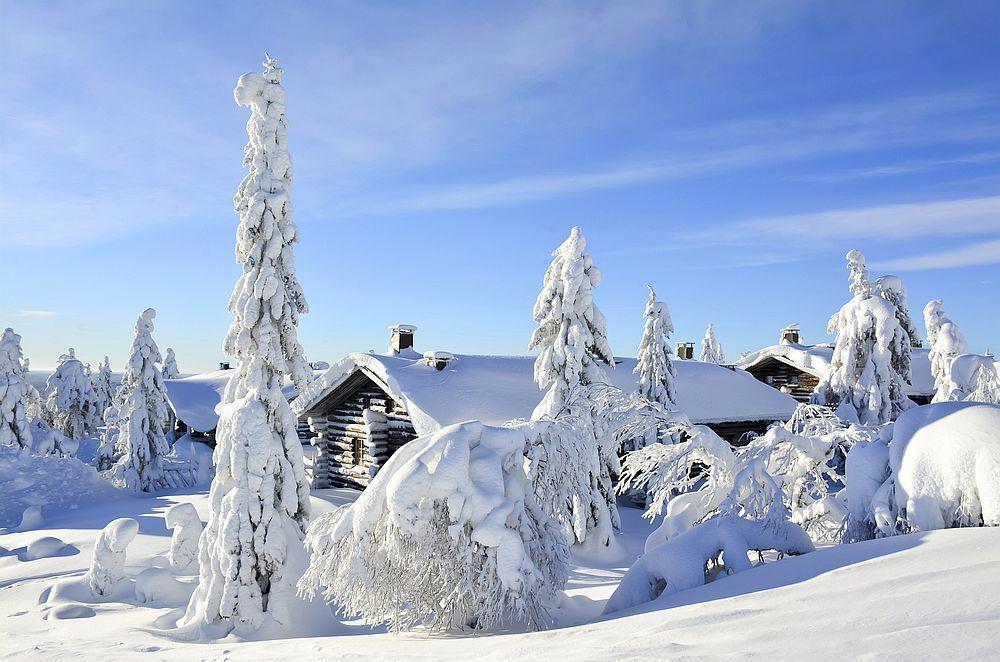 Финландия е страната на красивите снежни пейзажи.
