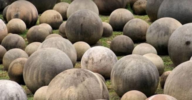 Каменните кълба в Коста Рика са сочени за един от