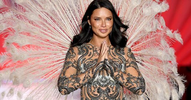Прелестната Адриана Лима – един от най-красивите ангели на Victoria's