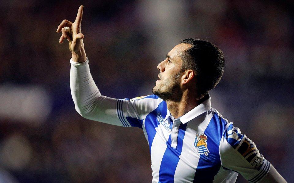 Реал Сосиедад скри топката на Леванте за 45 минути