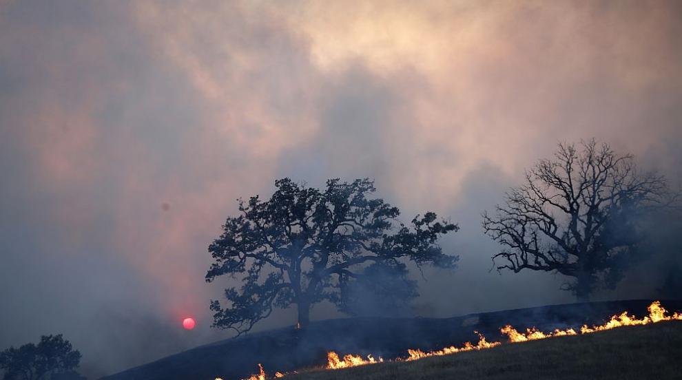 Увеличават се жертвите на горските пожари в Калифорния