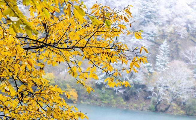 Край на топлата есен, кога идва снегът
