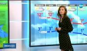 Прогноза за времето (12.11.2018 - централна емисия)