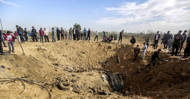 Израел изпрати днес изтребители над ивицата Газа в отговор на