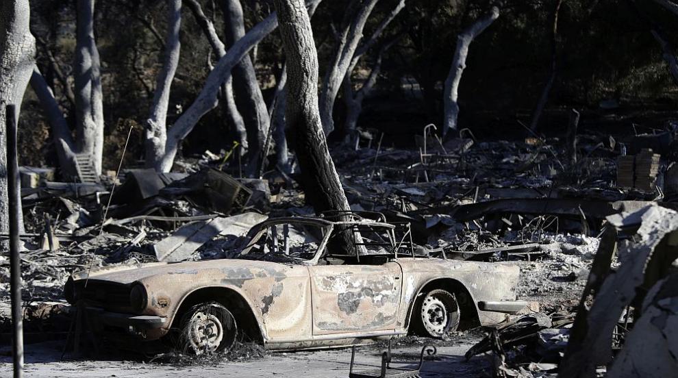 Над 40 са жертвите на пожара в Северна Калифорния