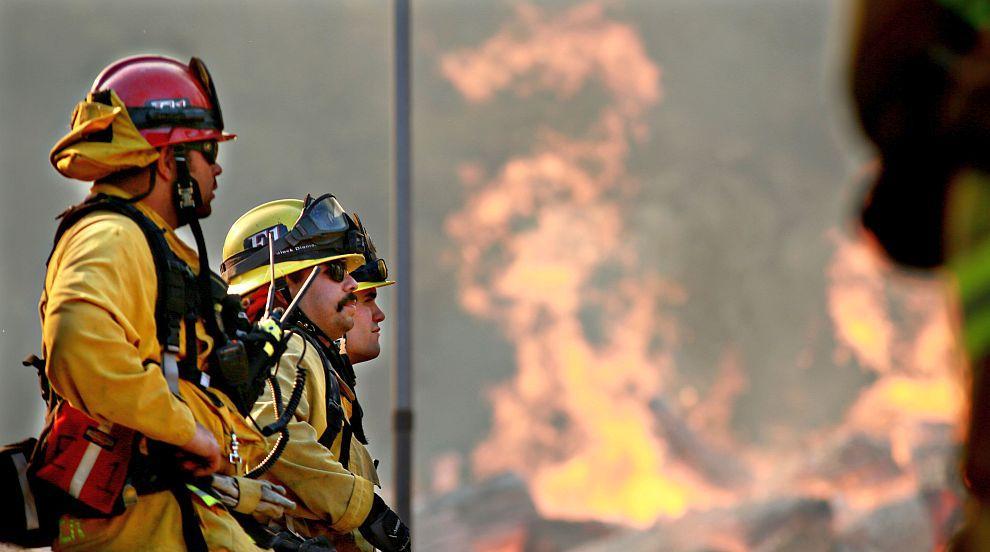 Бедствие: 80 сигнала за пожари в страната само за ден