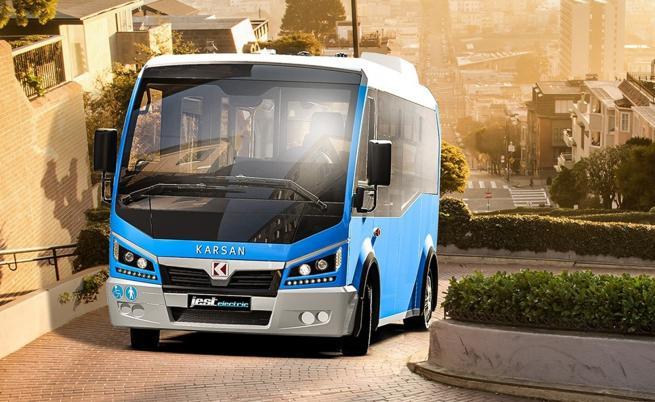 Karsan Jest Electric е турски електрически автобус за града