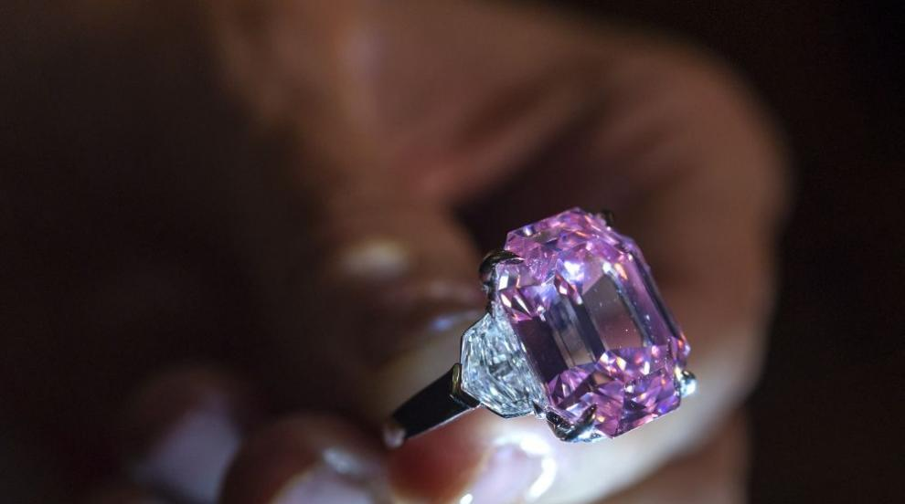 Продадоха розов диамант за рекордните 50 млн. евро(СНИМКИ/ВИДЕО)