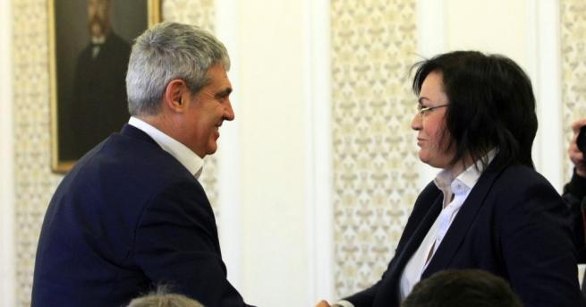 Ръководството на КСНБ се срещна с парламентарната група на БСП.