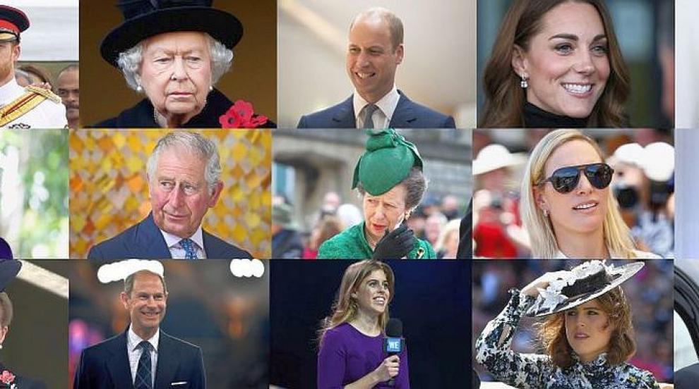 Най-обичаните кралски особи във Великобритания (СНИМКИ)