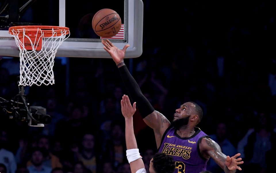ЛеБрон стана пети по резултатност в историята на НБА