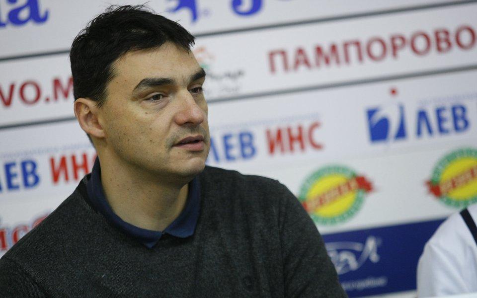 Владо Николов: Тренирам изключително сериозно от вчера