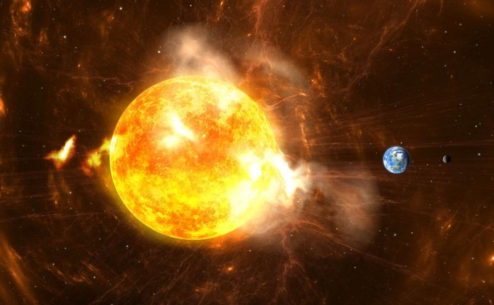 слънце космос