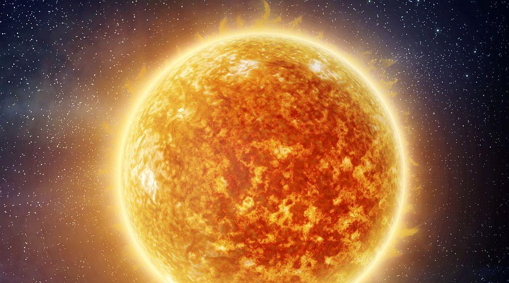 Къде може да видите Земята като джанка и Меркурий като фъстък?