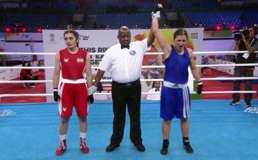 Трета победа за българките на Световното по бокс в Индия