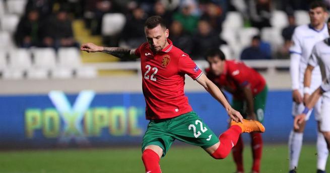 Българският национален отбор за първи път в историята си записа