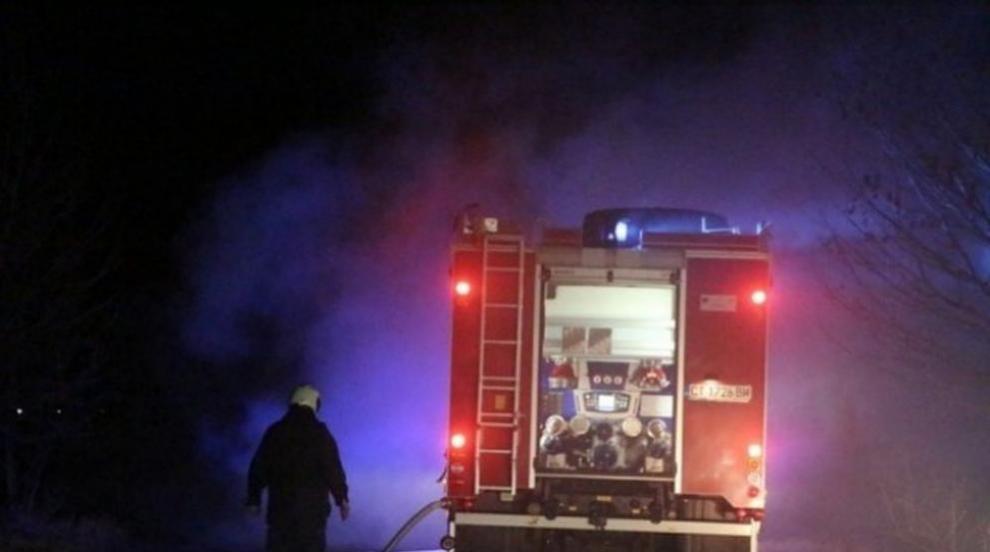 Пожар изпепели къща край Якоруда, мъж и жена пострадаха