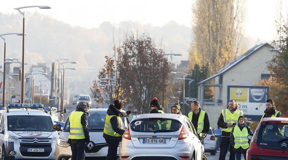 Тежки инциденти белязаха протестите срещу цените на горивата във Франция