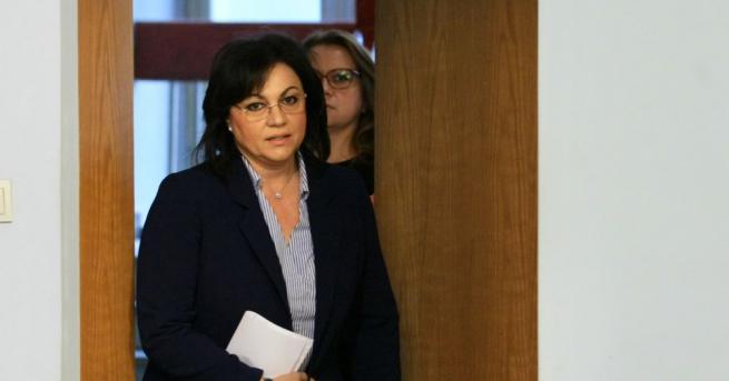 Според Корнелия Нинова оставката на Симеонов е неискрена Оставката на