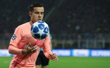Барселона таи надежди за Коутиньо