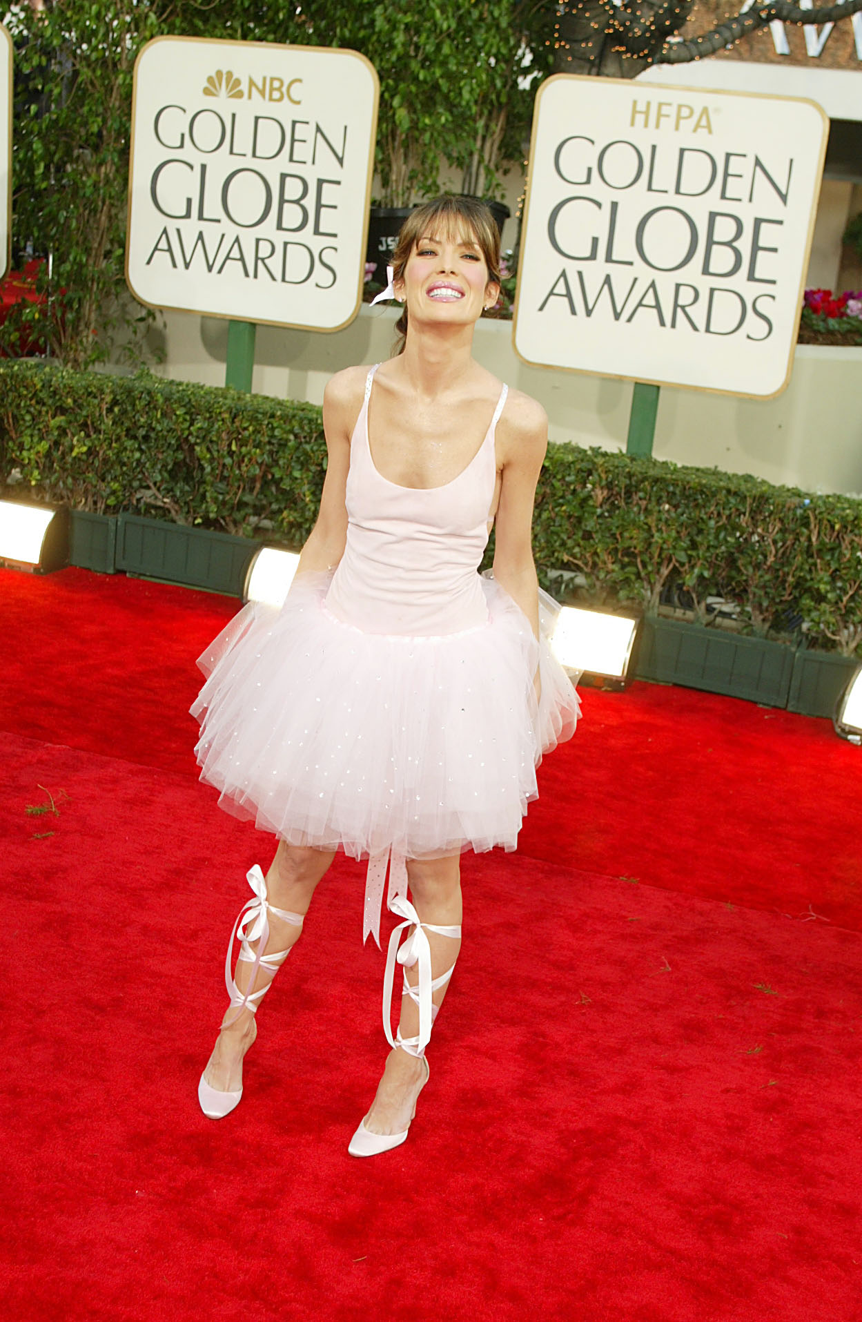 """Лара Флин Бойл (2003 г.) - актрисата избра доста неподходяща рокля за наградите """"Златен глобус"""", с която наподобяваше балерина."""