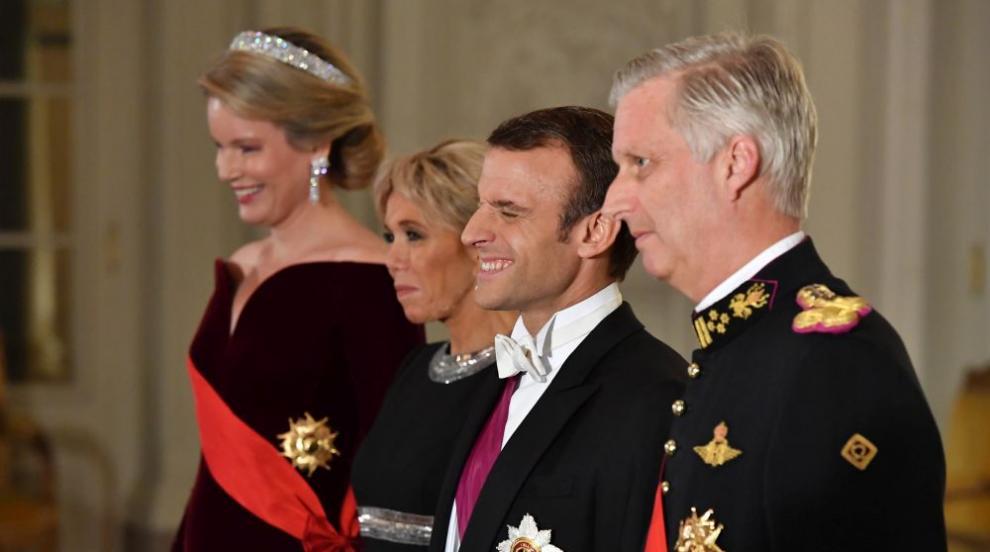 Макрон похвали отношенията между Франция и Белгия