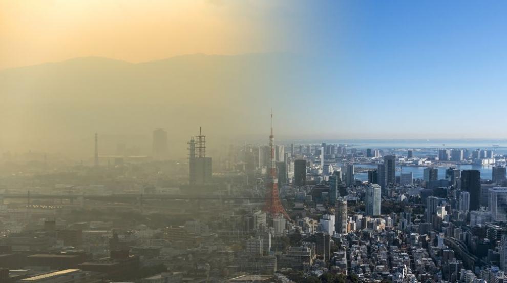 Дишането на мръсен градски въздух е равносилно на пакет цигари