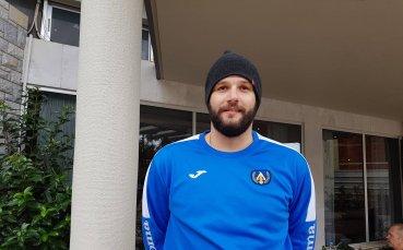 Калоян Иванов: Опитвам се вече да тренирам на 100%
