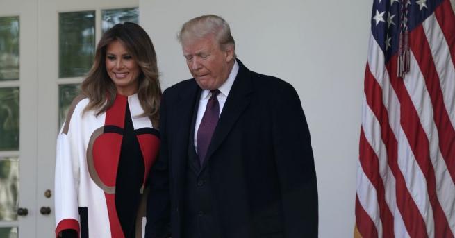 Президентът на САЩ Доналд Тръмп спази традицията на Деня на