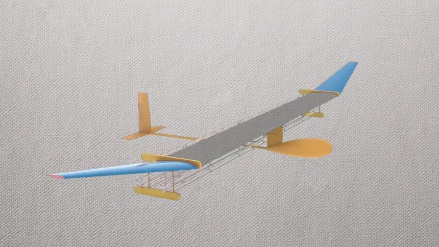 Учени създадоха първия самолет без движещи се части