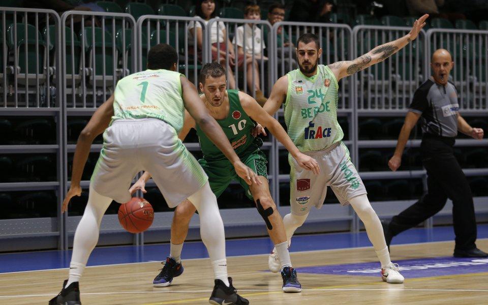 Баскетболният Берое с убедителен успех срещу казахстанци