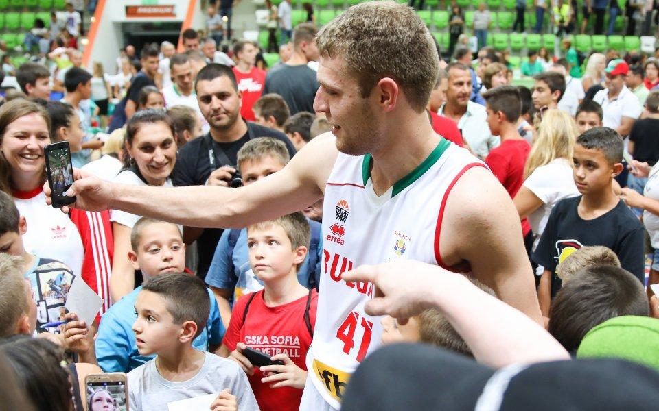 Везенков бе избран за MVP в последния кръг за сезона в Евролигата