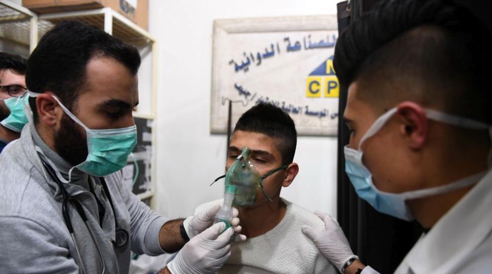 Над 100 пострадали при химическа атака в сирийския град Алепо