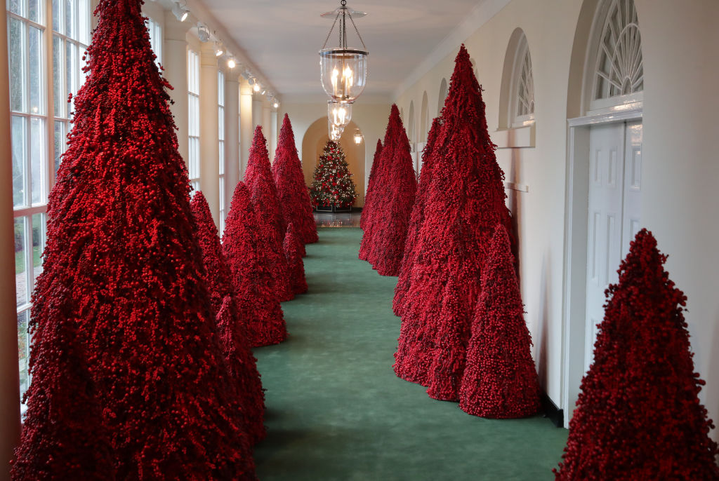 Коледната украса на Белия дом
