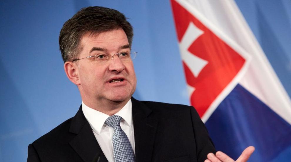Словашкият министър на външните работи оттегли оставката си