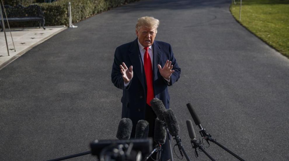 Доналд Тръмп не се притеснява от импийчмънт