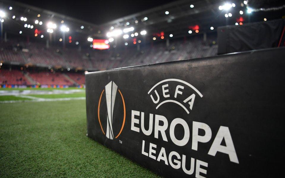 d31e1bd481e Резултати и голмайстори в първите елиминационни мачове в ЛЕ - Футбол свят -  Лига Европа - Gong.bg