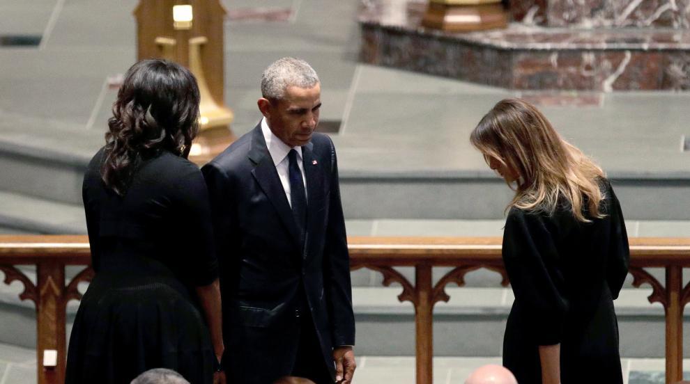 Тръмп и Обама поднесоха съболезнования за кончината на Джордж Буш старши